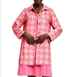 Isaac Mizrahi Jackets & Coats - Isacc Mizrahi For Target Houndstooth Trench Coat